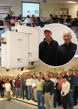 Noritz America, John Siegenthaler Hold Highly Successful Seminar On Revolutionary Noritz NH Boiler Series in NY Showroom